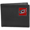 Siskiyou Buckle HBI135BX Carolina Hurricanes? Leather Bi-fold Wallet