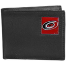 Siskiyou Buckle HBI135 Carolina Hurricanes? Leather Bi-fold Wallet Packaged in Gift Box