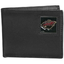 Siskiyou Buckle HBI145 Minnesota Wild Leather Bi-fold Wallet Packaged in Gift Box