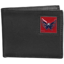 Siskiyou Buckle HBI150 Washington Capitals Leather Bi-fold Wallet Packaged in Gift Box