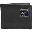 Siskiyou Buckle HBI15BX St. Louis Blues Leather Bi-fold Wallet