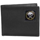 Siskiyou Buckle HBI25 Buffalo Sabres? Leather Bi-fold Wallet Packaged in Gift Box