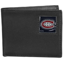 Siskiyou Buckle HBI30 Montreal Canadiens Leather Bi-fold Wallet Packaged in Gift Box