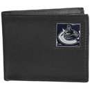 Siskiyou Buckle HBI35BX Vancouver Canucks? Leather Bi-fold Wallet