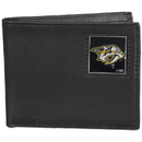 Siskiyou Buckle HBI40BX Nashville Predators? Leather Bi-fold Wallet