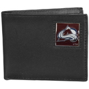 Siskiyou Buckle HBI5 Colorado Avalanche Leather Bi-fold Wallet Packaged in Gift Box