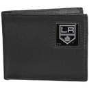 Siskiyou Buckle HBI75 Los Angeles Kings Leather Bi-fold Wallet Packaged in Gift Box
