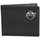 Siskiyou Buckle HBI90BX Edmonton Oilers? Leather Bi-fold Wallet