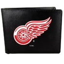Siskiyou Buckle HBIL110 Detroit Red Wings Bi-Fold Wallet Large Logo
