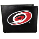 Siskiyou Buckle HBIL135 Carolina Hurricanes Bi-Fold Wallet Large Logo