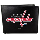 Siskiyou Buckle Washington Capitals Bi-fold Wallet Large Logo, HBIL150