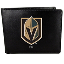 Siskiyou Buckle Vegas Golden Knights Bi-fold Wallet Large Logo, HBIL165