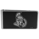 Siskiyou Buckle HBKM120 Ottawa Senators Black and Steel Money Clip