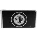 Siskiyou Buckle HBKM155 Winnipeg Jets; Black and Steel Money Clip