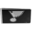 Siskiyou Buckle HBKM15 St. Louis Blues Black and Steel Money Clip