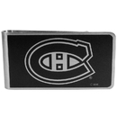 Siskiyou Buckle HBKM30 Montreal Canadiens Black and Steel Money Clip
