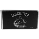 Siskiyou Buckle HBKM35 Vancouver Canucks Black and Steel Money Clip