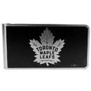Siskiyou Buckle HBKM85 Toronto Maple Leafs Black and Steel Money Clip