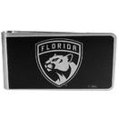 Siskiyou Buckle HBKM95 Florida Panthers Black and Steel Money Clip