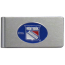 Siskiyou Buckle HBMC105 New York Rangers? Brushed Metal Money Clip