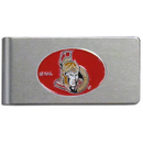 Siskiyou Buckle HBMC120 Ottawa Senators Brushed Metal Money Clip