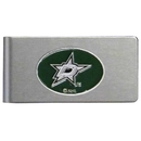 Siskiyou Buckle HBMC125 Dallas Stars Brushed Metal Money Clip