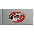 Siskiyou Buckle HBMC135 Carolina Hurricanes? Brushed Metal Money Clip