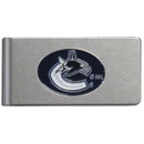 Siskiyou Buckle HBMC35 Vancouver Canucks? Brushed Metal Money Clip