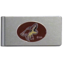 Siskiyou Buckle HBMC45 Arizona Coyotes? Brushed Metal Money Clip