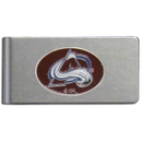 Siskiyou Buckle HBMC5 Colorado Avalanche? Brushed Metal Money Clip