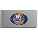 Siskiyou Buckle HBMC70 New York Islanders? Brushed Metal Money Clip