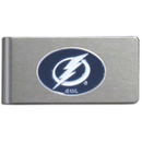 Siskiyou Buckle HBMC80 Tampa Bay Lightning? Brushed Metal Money Clip