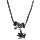 Siskiyou Buckle HBNK115 San Jose Sharks Euro Bead Necklace