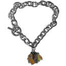 Siskiyou Buckle HCBR10 Chicago Blackhawks Charm Chain Bracelet