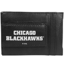 Siskiyou Buckle Chicago Blackhawks Logo Leather Cash and Cardholder, HCCP10