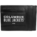 Siskiyou Buckle Columbus Blue Jackets Logo Leather Cash and Cardholder, HCCP130