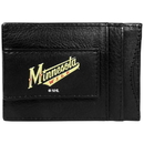 Siskiyou Buckle Minnesota Wild Logo Leather Cash and Cardholder, HCCP145