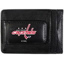 Siskiyou Buckle Washington Capitals Logo Leather Cash and Cardholder, HCCP150