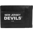 Siskiyou Buckle New Jersey Devils Logo Leather Cash and Cardholder, HCCP50