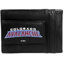 Siskiyou Buckle Colorado Avalanche Logo Leather Cash and Cardholder, HCCP5