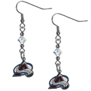 Siskiyou Buckle HCE5 Colorado Avalanche Crystal Dangle Earrings
