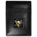 Siskiyou Buckle HCH100 Pittsburgh Penguins? Leather Money Clip/Cardholder Packaged in Gift Box