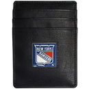 Siskiyou Buckle HCH105 New York Rangers? Leather Money Clip/Cardholder Packaged in Gift Box