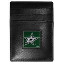 Siskiyou Buckle HCH125 Dallas Stars? Leather Money Clip/Cardholder Packaged in Gift Box