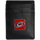 Siskiyou Buckle HCH135BX Carolina Hurricanes? Leather Money Clip/Cardholder