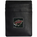 Siskiyou Buckle HCH145BX Minnesota Wild? Leather Money Clip/Cardholder