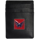 Siskiyou Buckle HCH150 Washington Capitals Leather Money Clip/Cardholder Packaged in Gift Box