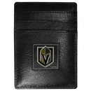 Siskiyou Buckle HCH165 Las Vegas Golden Knights Leather Money Clip/Cardholder Packaged in Gift Box