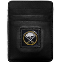 Siskiyou Buckle HCH25BX Buffalo Sabres? Leather Money Clip/Cardholder