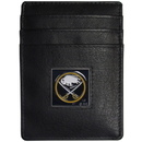 Siskiyou Buckle HCH25 Buffalo Sabres? Leather Money Clip/Cardholder Packaged in Gift Box
